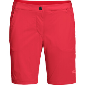Jack Wolfskin Hilltop Trail Shorts Damen tulip red